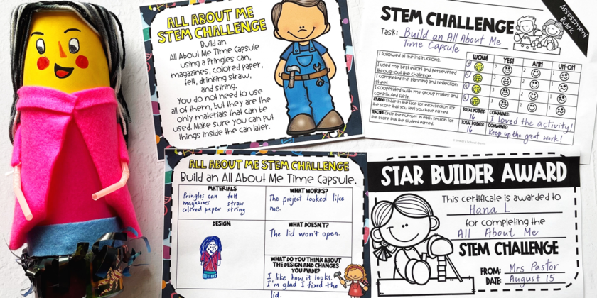 50+ STEM Challenges for Elementary Students